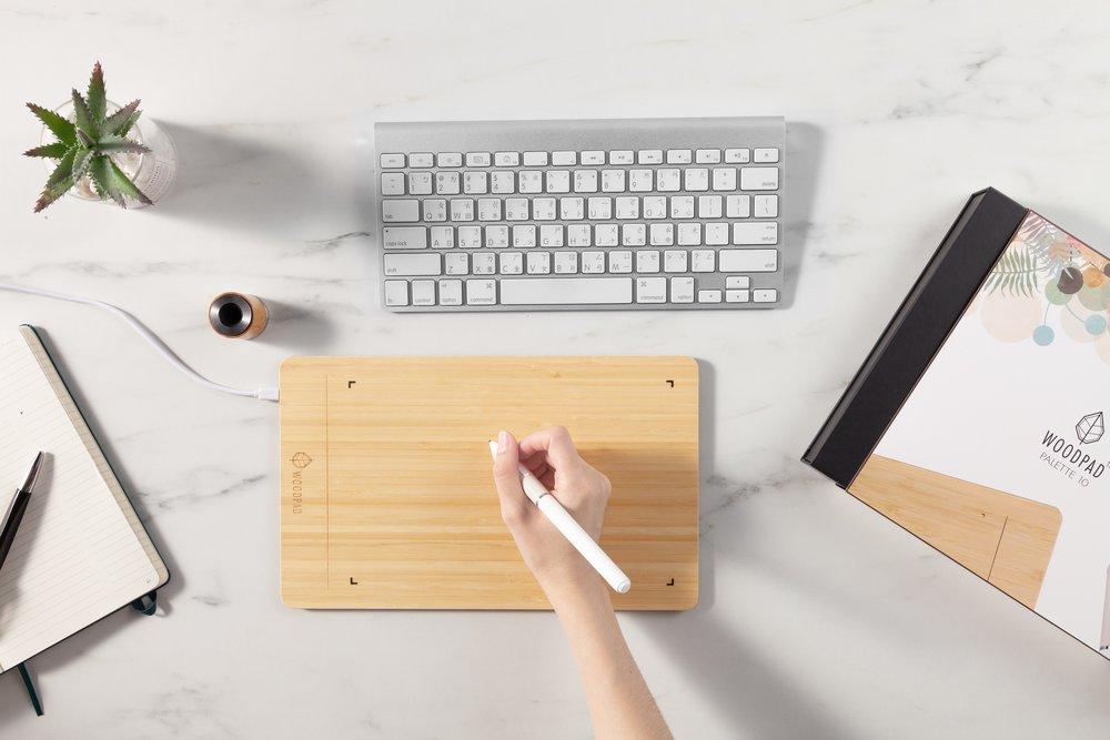 "WoodPad 10"" - Realize Creativity, Start Here"