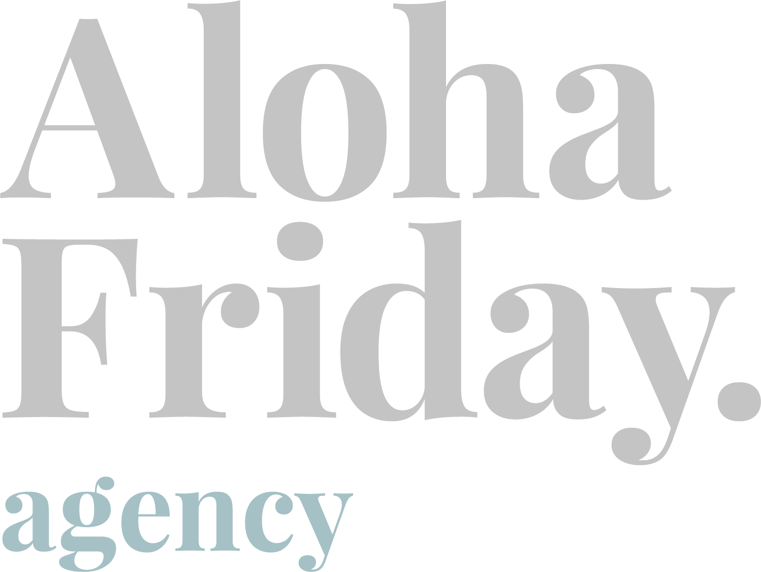 Aloha Friday Agency