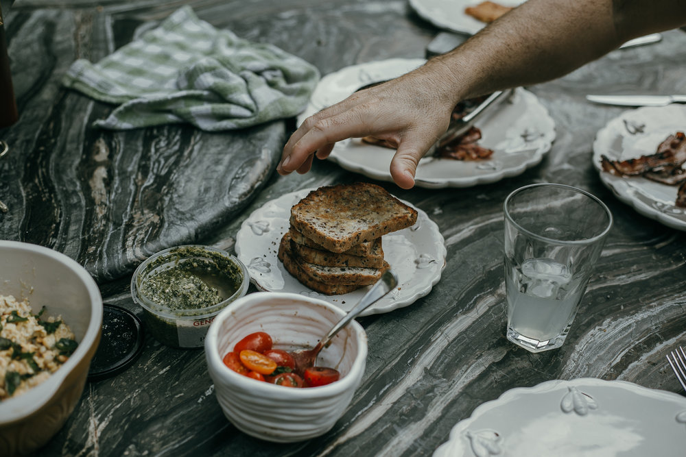 Food is always a big part of Summer getaways and adventures. Preparing breakfast or a dinner feast that brings everyone around the table. You can't beat it.