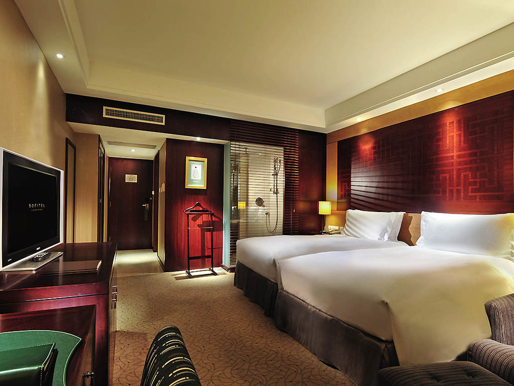 A double room at the Sofitel. Picture from the Sofitel website.