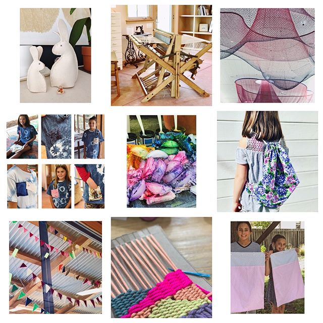 Folks best nine for 2018!  Thank you to all the hard working students who bring so much creativity and joy to my sewing studio, it's a pleasure working with you all. I am looking forward to a really fun 2019. Happy New Year 🌟