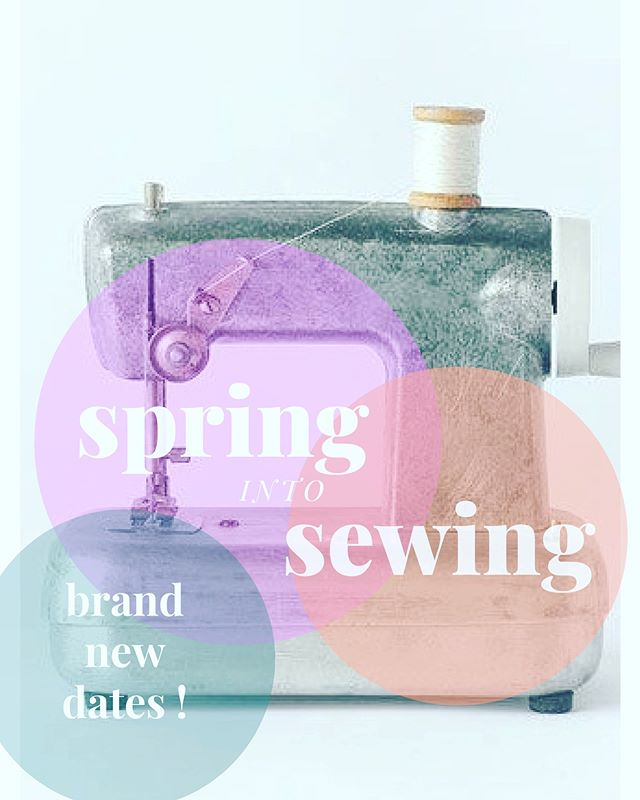 The Kids sewing class dates are now  posted on our website. I have group classes and privates available and also something for adults too! Click the link in my bio to check it out.