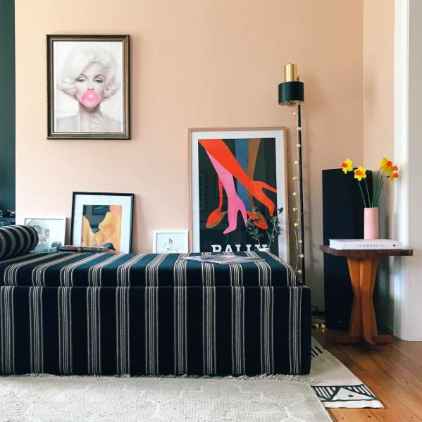 Michelle's $250 Ottoman/Slat Sofa Bed