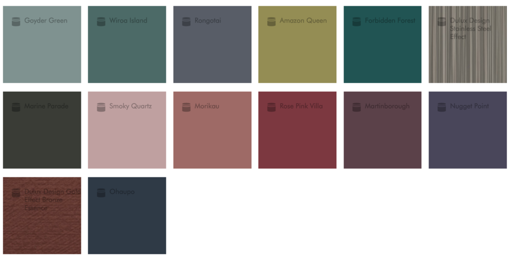 Reflect palette - rich, jewel tones are sticking around. That Rose Pink Villa is my favourite.