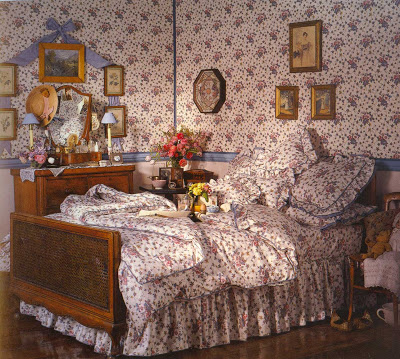 Who remembers the floor to ceiling matching Laura Ashley?