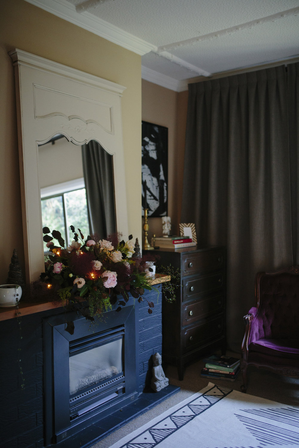 Michelle's bedroom blooms by  Petal & Prickle