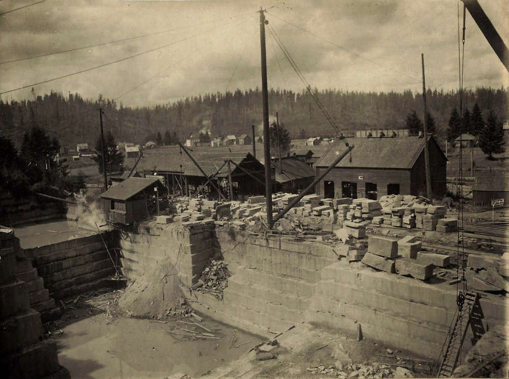 Tenino Stone Company (site of the present-day Tenino Swimming Pool)