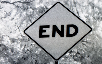 """SIGNS AND SYMBOLS: """"THE END"""""""