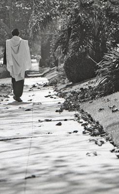 """SIGNS AND SYMBOLS: """"MAN WALKING"""""""