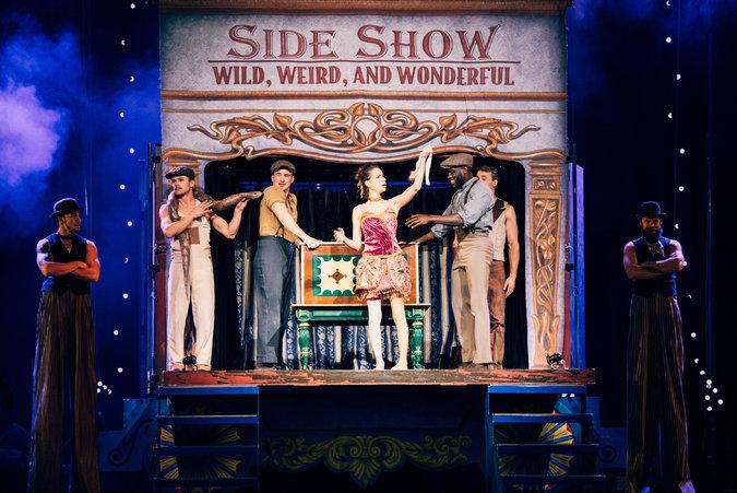 Angela_Aaron_Circus_1903_SideShow