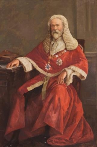 Portrait of Sir Samuel Griffith by Sir William Dargie (1979)