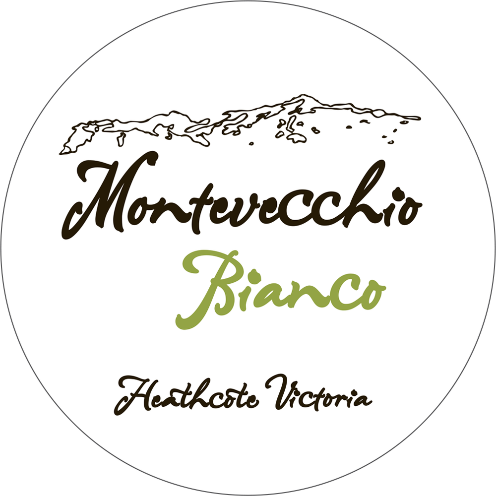 Montevecchio Bianco - Fresh and fruit driven yet with savoury edge. This wine shows floral notes, with ripe white peach, fresh cut apple with a quartz like minerality. A light to medium bodied style, the wine has a crisp and refreshing acidity yet exhibits some subtle spice and texture characteristic of each variety in the blend