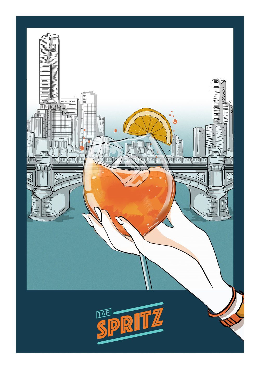 A spritz with a view -