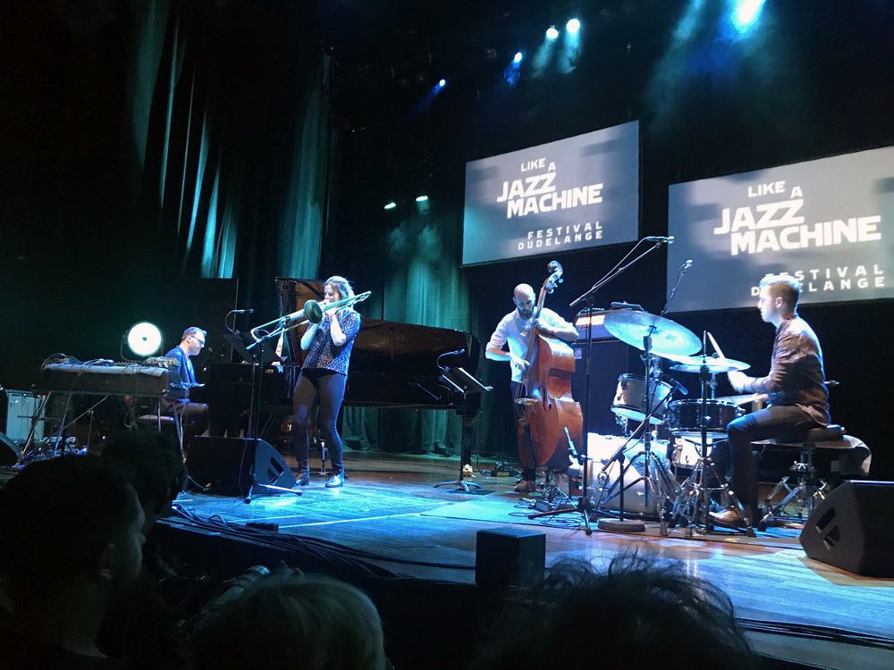 Like a Jazz Machine / Opderschmelz Dudelange (May 2018)