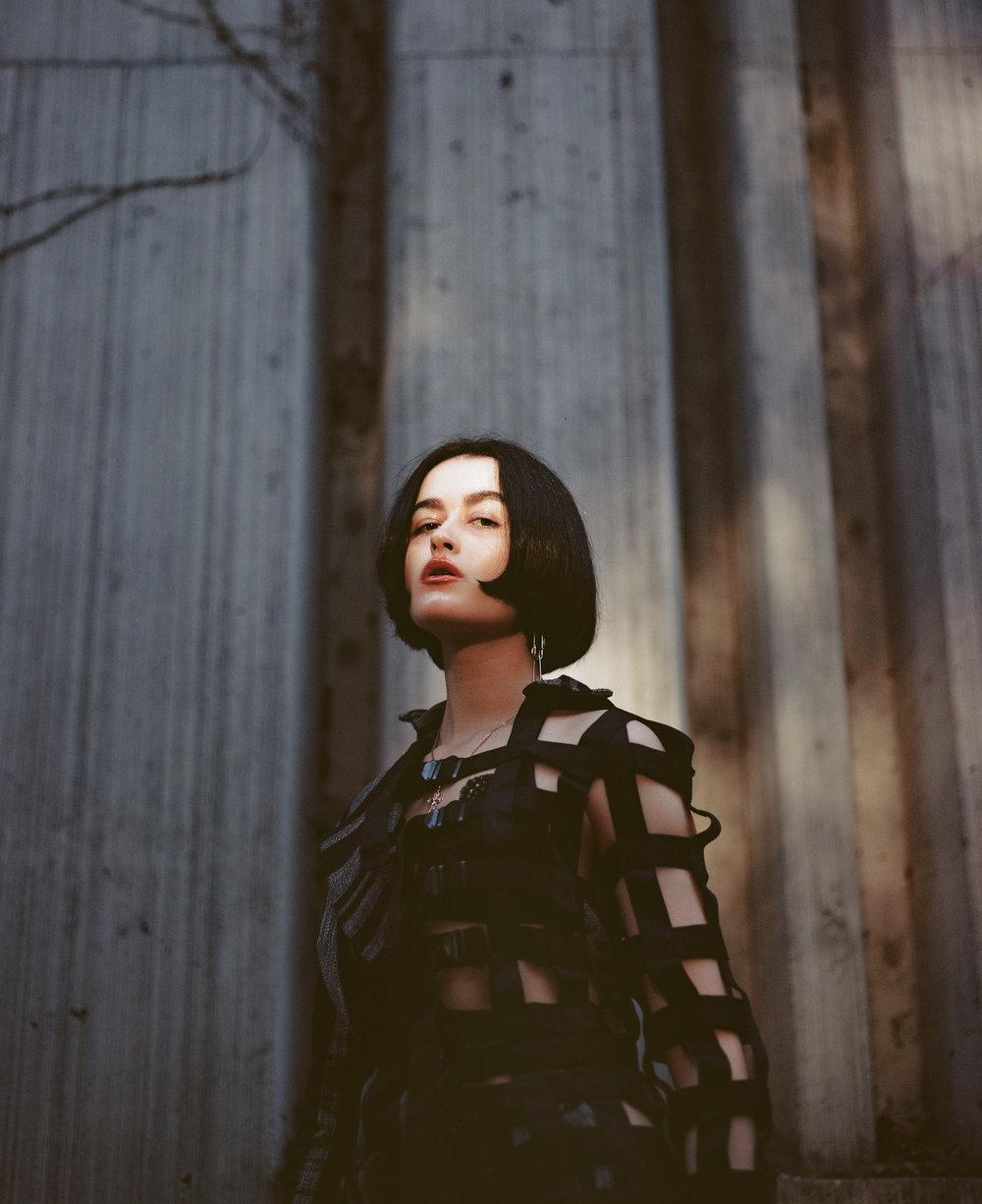 Photographer: Wilder Mathias  Designer: Hannah Eriksson  Model: Veronika Yemelyánova