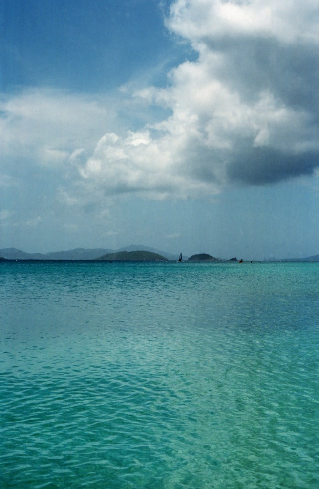 istillshootfilm :     I wish I was here right now…   Francis Bay, St. John, USVI | Shot with a Nikon FM2 and Kodak Ektar 100     Talking of summer motivation…