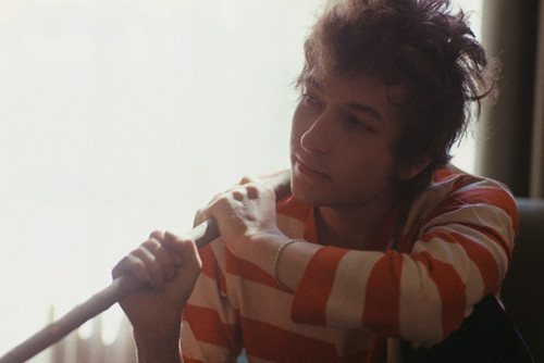 historiful :     Singer Bob Dylan (b. 1941), date unknown.     There's always room for Bob on a blog.