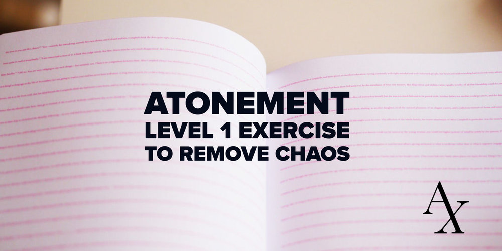 Atonement Exercise