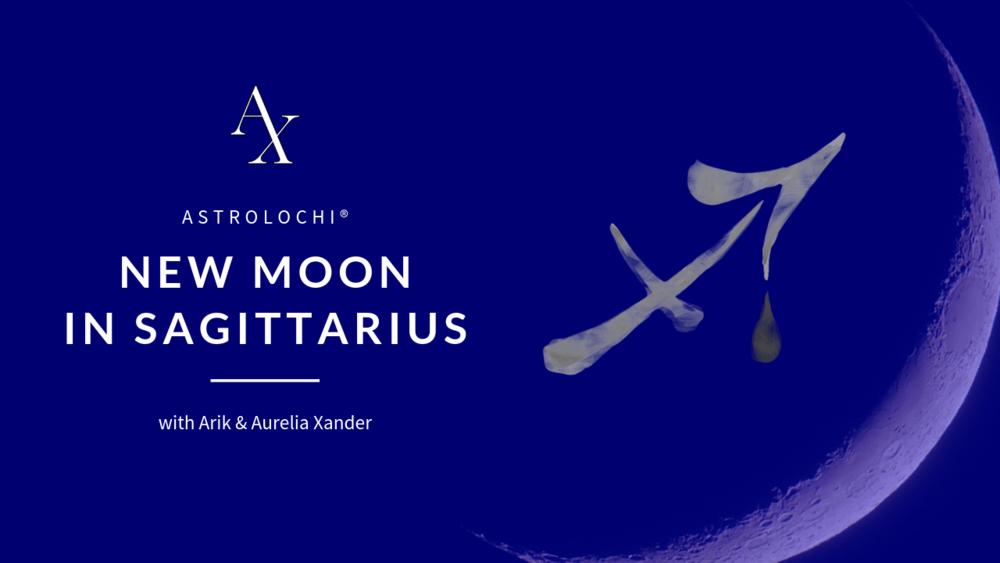 NEW MOON @ 15° SAGITTARIUS DEC. 7, 2018, 07:21 AM UTC