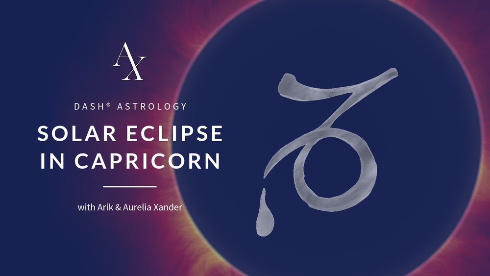 SOLAR ECLIPSE @ 15° CAPRICORN JAN. 6, 2019, 01:29 AM UTC