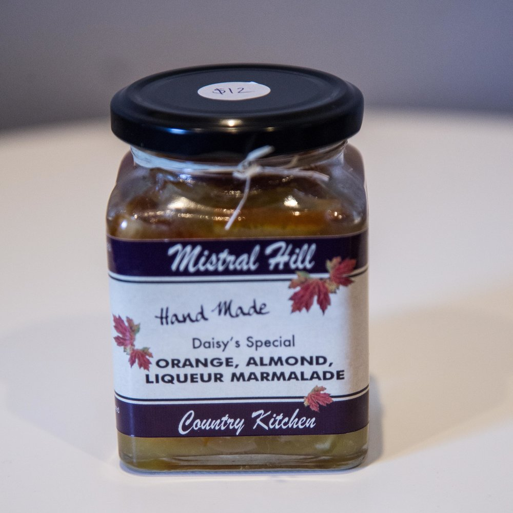 Mistral Hill - Orange Almond Liquer Marmalade - $12