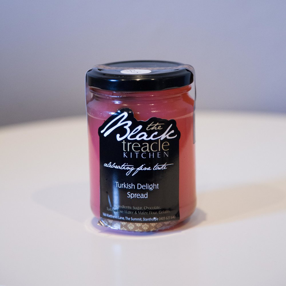 Black Treacle - Turkish Delight Spread - $12