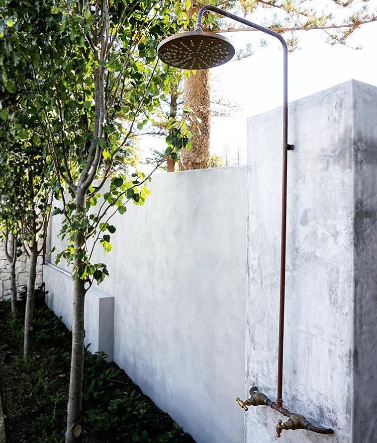 SGO Outdoor Shower | Design by Mon Palmer