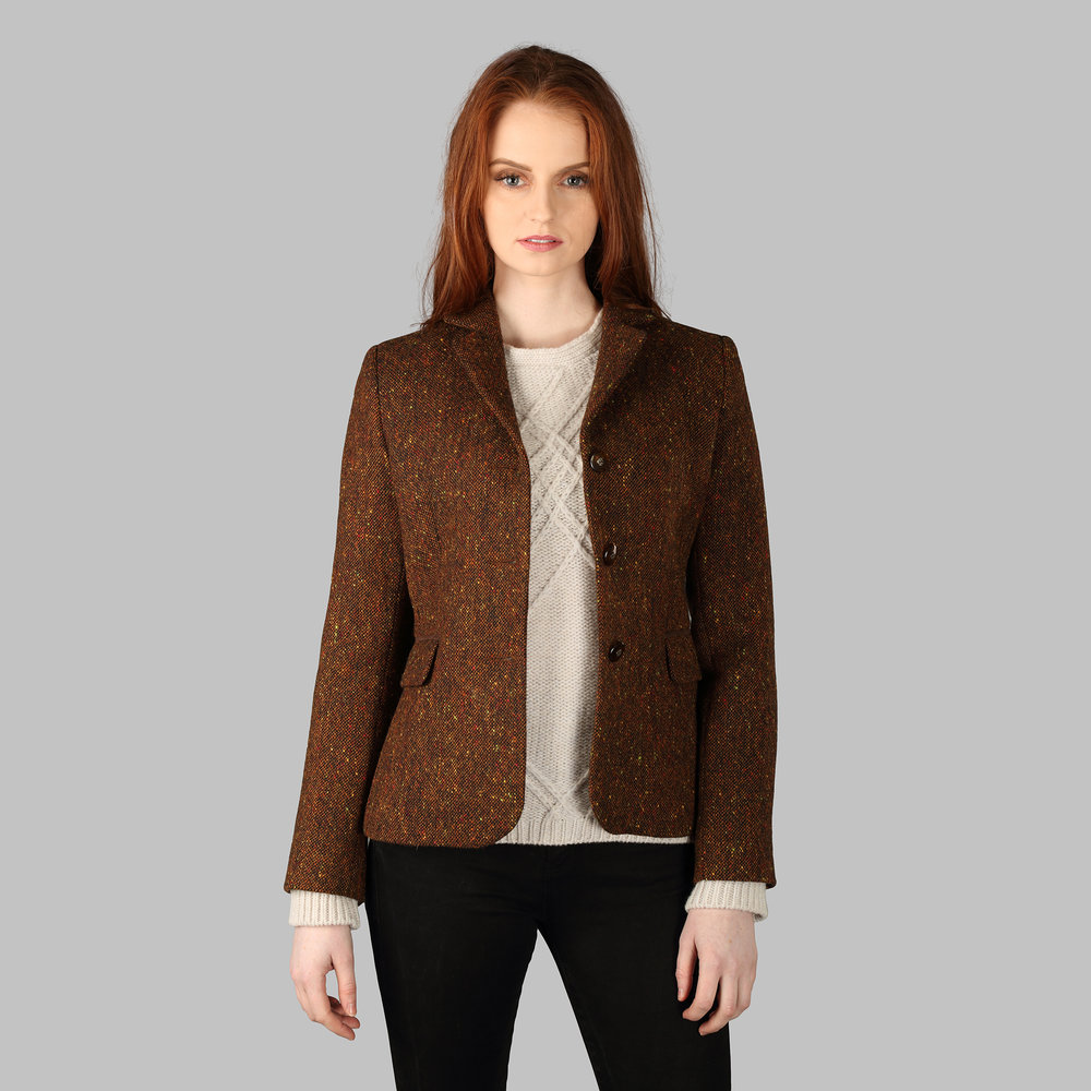 Tweed Blazer - SHOP NOW