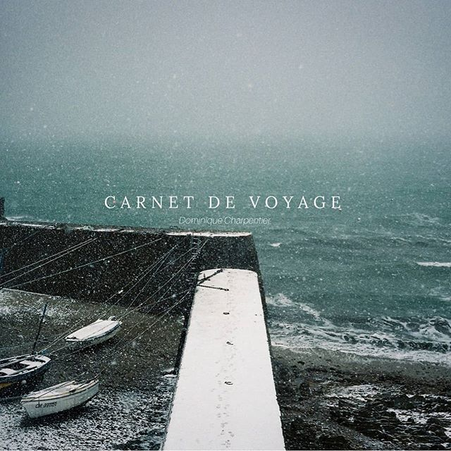 """Happy release day! """"Carnet de Voyage"""" by Dominique Charpentier is out now! Get it in a precious limited vinyl edition! Link in bio."""