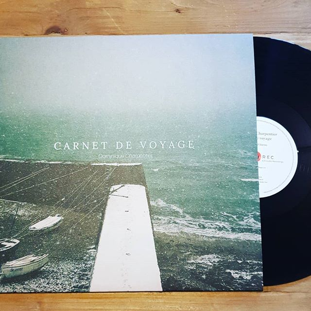"""Here it is! The gorgeous vinyl for the latest @dominique_charpentier """"Carnet de Voyage"""" album safely landed at our office. Ready to ship the pre-orders!"""
