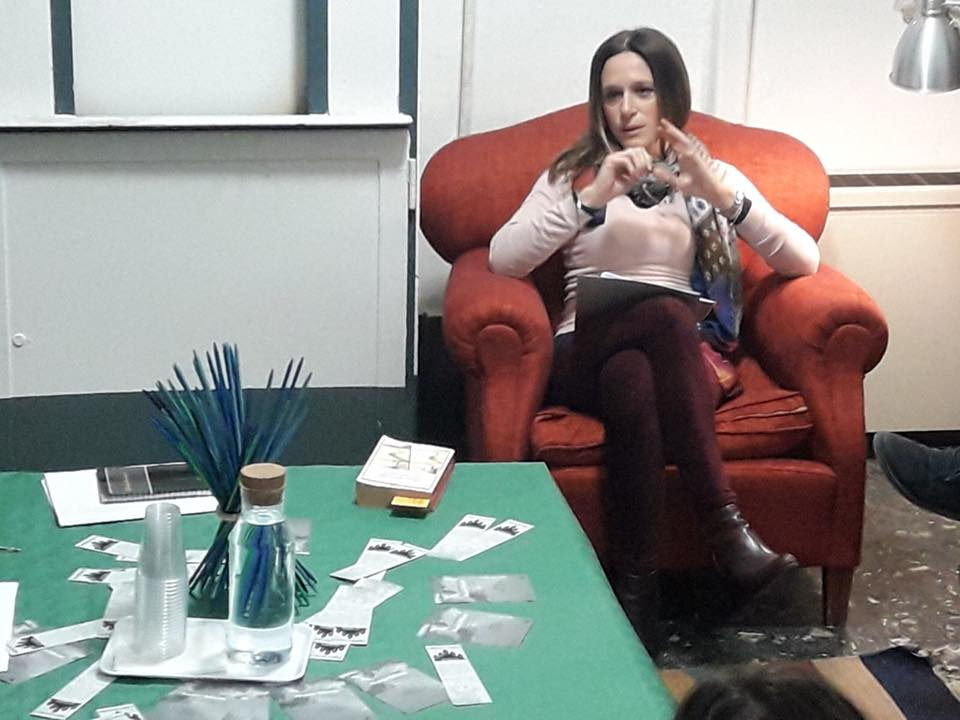 Il workshop con Valeria Parrella