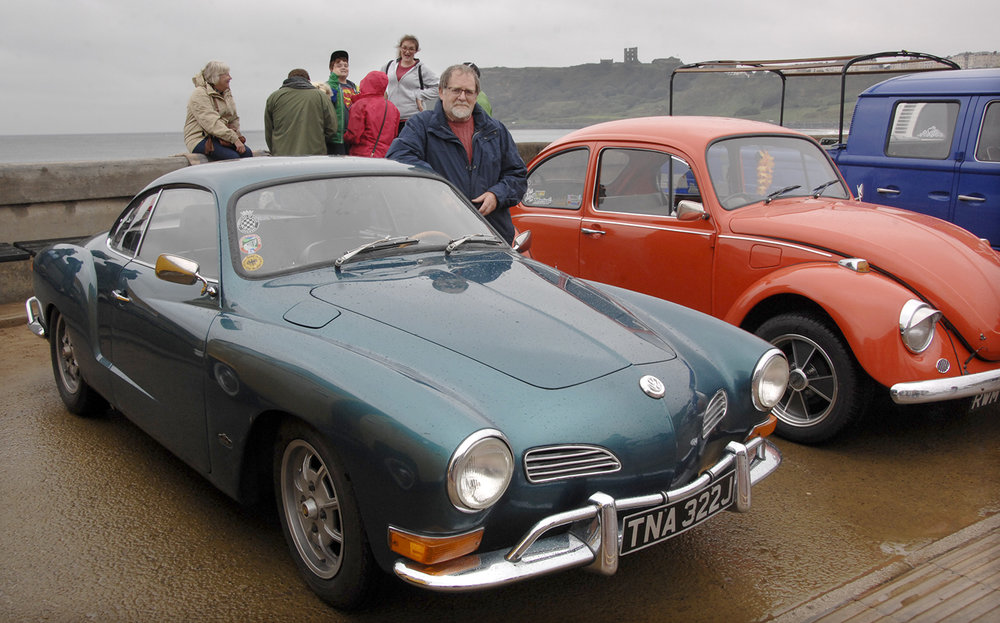 Derek Richardson and his 1970 Karmann Ghia