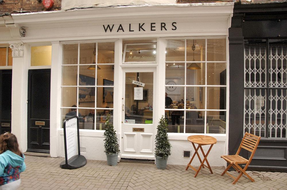 Walkers in Bar Street