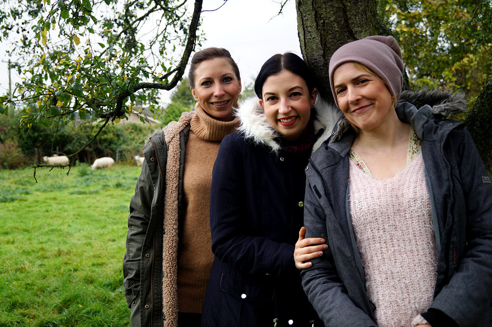 Lisa Ponter, Rae Yaldren and Jo Pimm