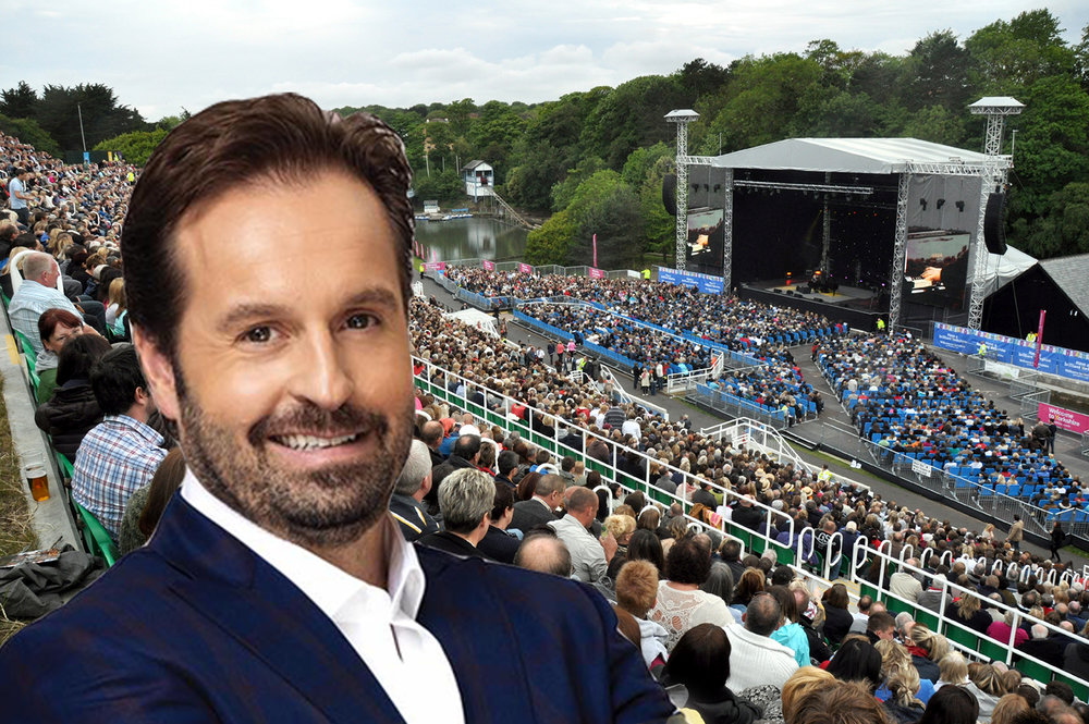 Alfie Boe coming to the Open-Air Theatre