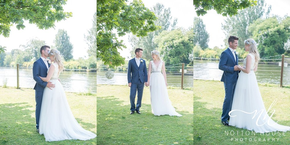 blue and silver wedding theme, shropshire wedding photographer notton house photography