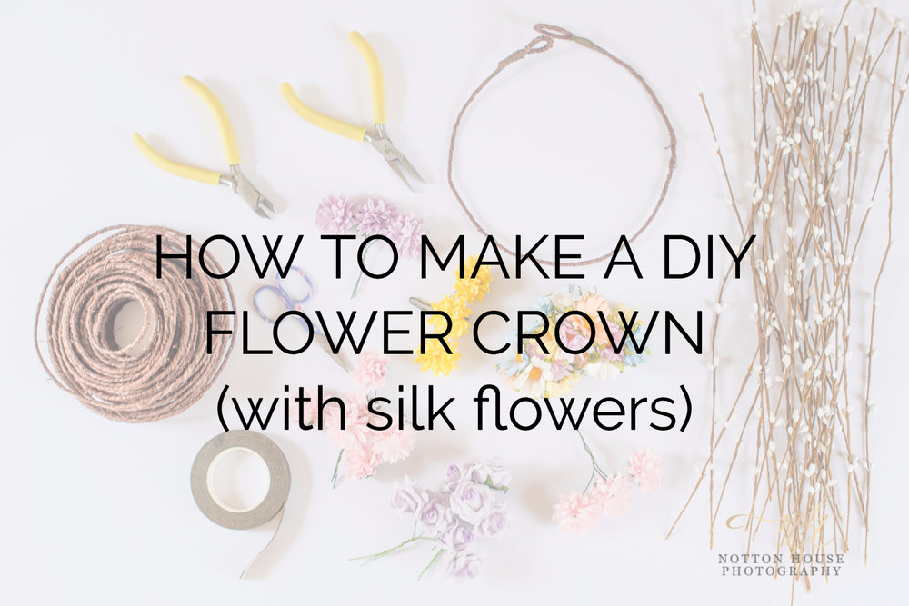 HOW TO MAKE A DIY FLOWER CROWN (with silk flowers).jpg