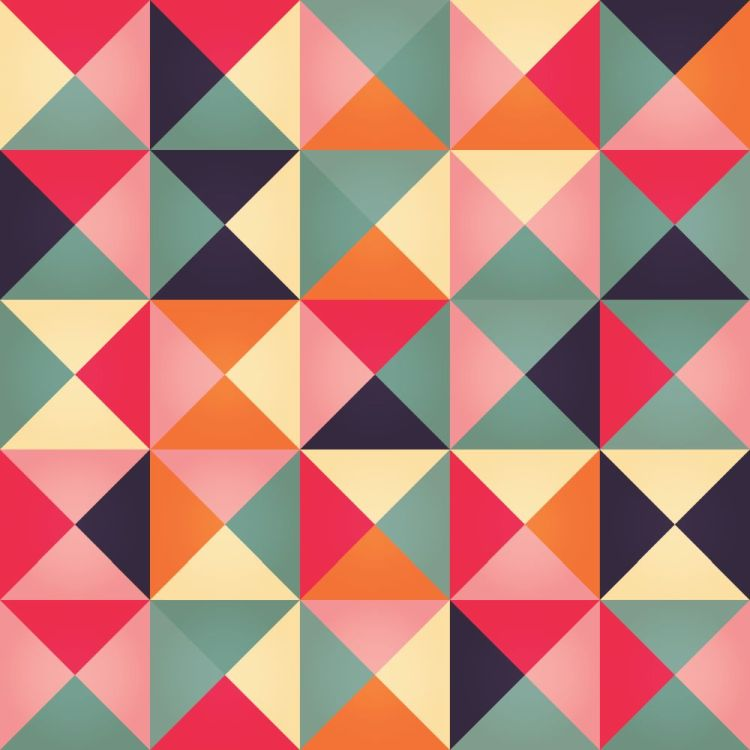 Bluelela Design BlueLela Design Geometric Patterns Simple Geometric Pattern