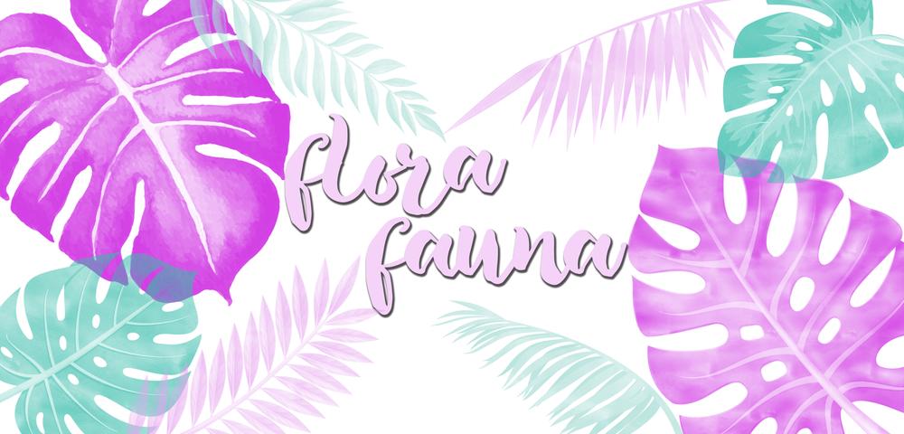 NEW INCOLLECTION VI: FLORA FAUNA -