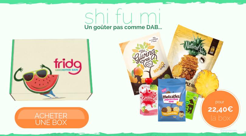 fridg-fridgbox La box de snacks healthy pour les jeunes