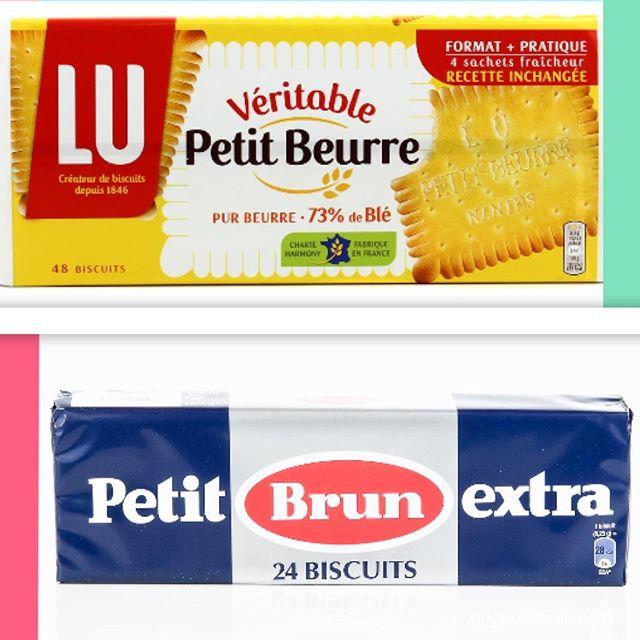 """Vaut mieux l'un que l'autre Ce sont les biscuits que l'on donne souvent aux enfants en se disant """"c'est moins sucré qu'un choco... ça va"""". Il sont bien croustillants ou tout mous lorsqu'on les trempent ; mais lequel de ces deux remporte la battle ? Alors c'est le petit beurre de Lu mais savez-vous pourquoi ? Réponse en Story. #battleDeGouters #VS #versus #compisition #gouterhealthy #oupas #collation #enfant #gourmande #pause #biscuits"""