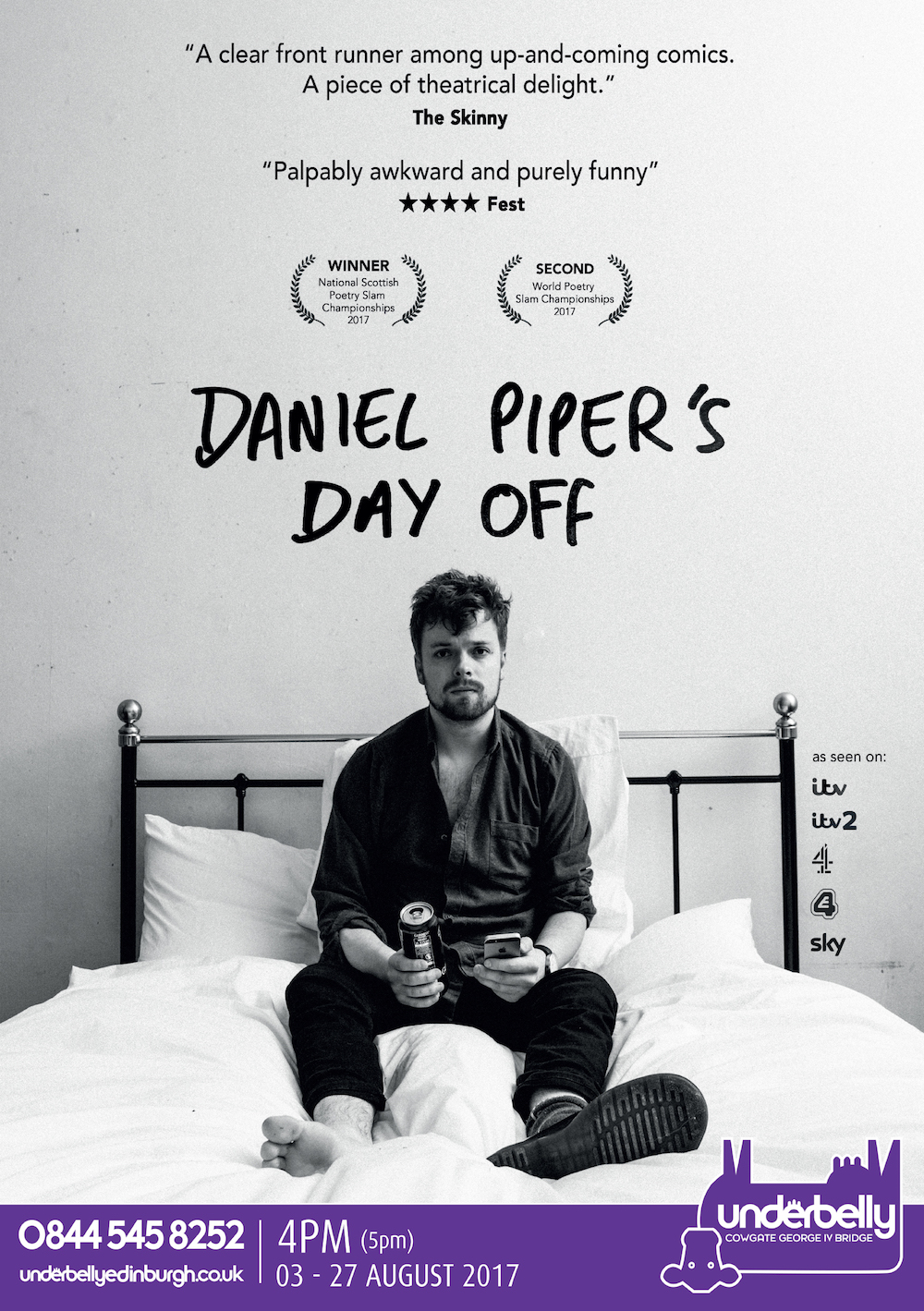 Daniel Piper's Day Off, 2017