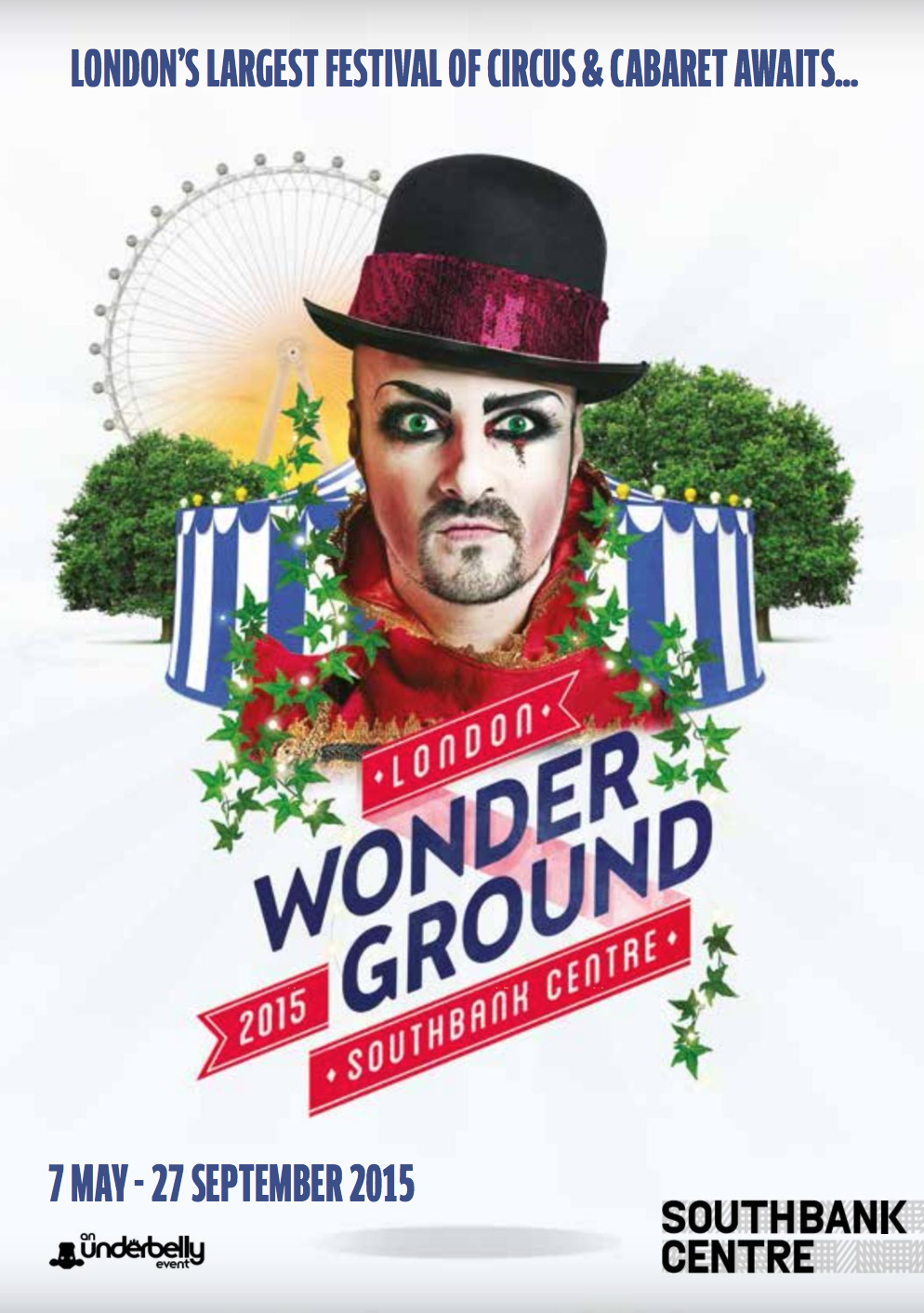 London Wonderground Festiva 2015 brochure (click to read)