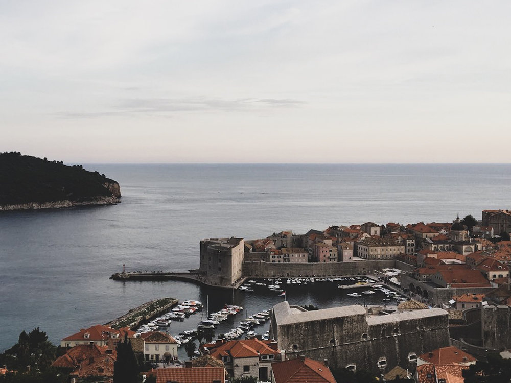 Dubrovnik is a magical place when the evening falls