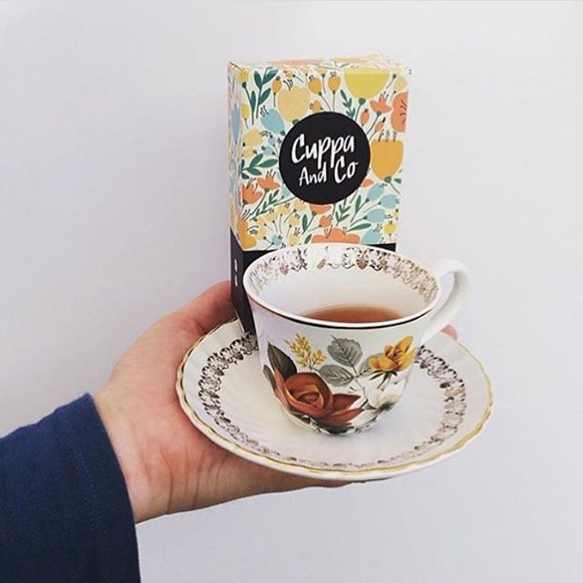Our classic Breakfast in Bed loose leaf tea. You enjoy that one @teaandfleur #drinkup