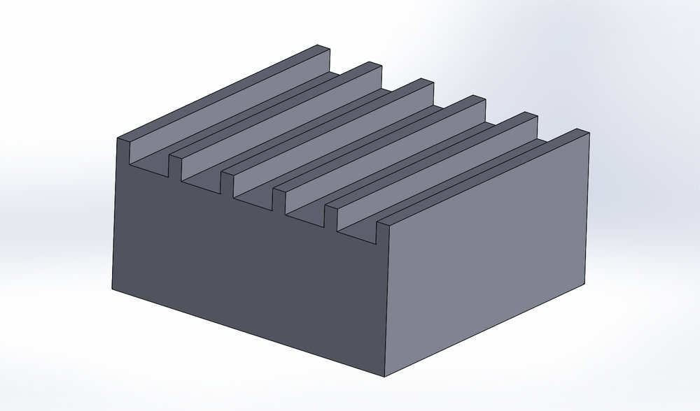 Drawing of a Hoowaki® Low Friction surface