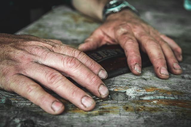 """In the hands of a maker…"" @jimmydiresta"