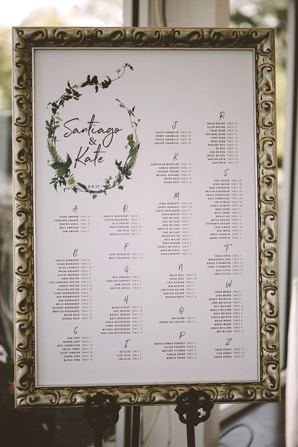 wedding-day of-seating-chart-floral-white-green-handwritten-alphabetical.jpg