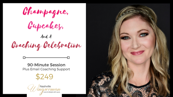 A coaching celebration - It's time to celebrate your inner hot goddess and unleash your feminine power in your dating life. Now is the time to live a life you love! Limited Holiday Special Pricing of $97 only until 12/31/2017!