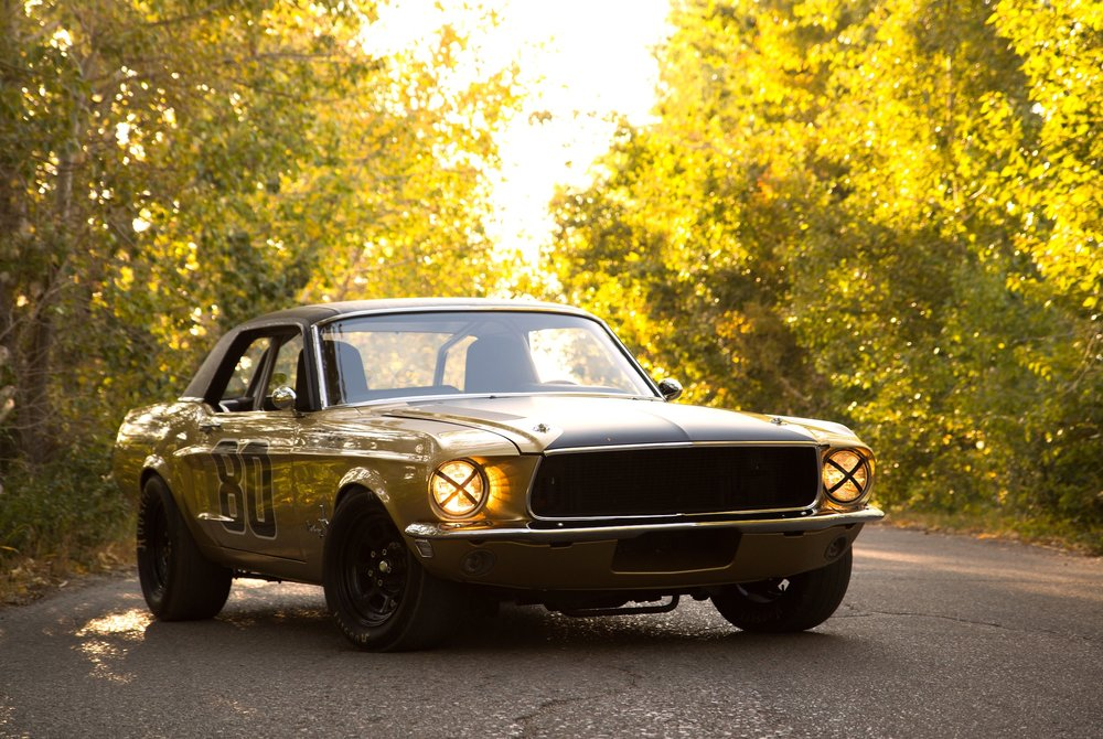 Build A Mustang >> Gregor Jeffrey 1968 Ford Mustang Race Car Build Canada S Leading